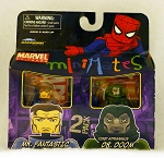 Mr Fantastic & First Appearance Dr Doom Minimates