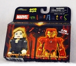 Pepper Potts & Mark Ill Iron Man Minimates