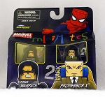 X-Force Warpath & Professor X Minimates