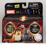 Guantlet Tony Stark & Stealth Iron Man Minimates