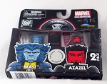 X-Men First Class Beast & Azazel Minimates