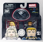 X-Men First Class Emma Frost & Havok Minimates