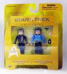 Ambassador Sarek & Dress Uniform Spock Star Trek Minimates