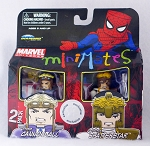 X-Force Cannonball & Shatterstar Minimates