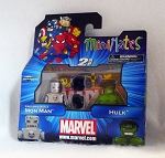 First Appearance Iron Man & Hulk Minimates