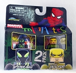 Big Time Spider-Man & Iron Fist Minimates