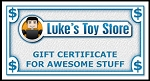 Luke's Toy Store Gift Certificate - Choose Your Amount