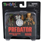 Renegade Predator and Mission Brief Dillon TRU Minimates