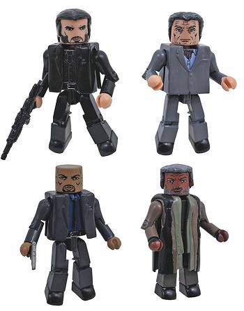 John Wick Minimates Box Set