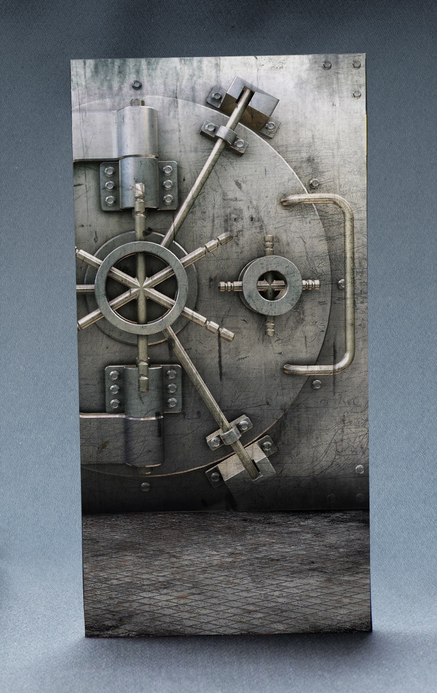 Bank Vault 1:6 Scale Striking Backdrop