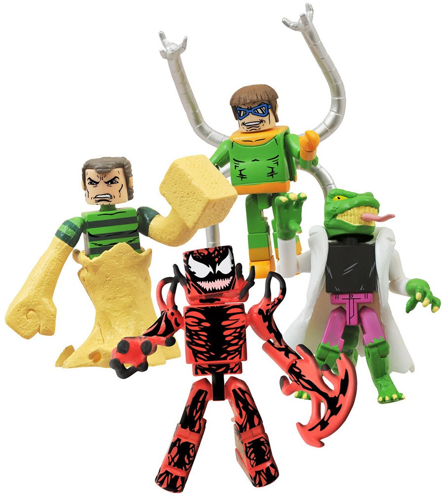 Deadly Foes of Spider-Man Minimates Box Set