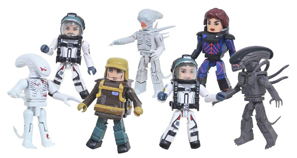 Alien Covenant Minimates Full Set of 8