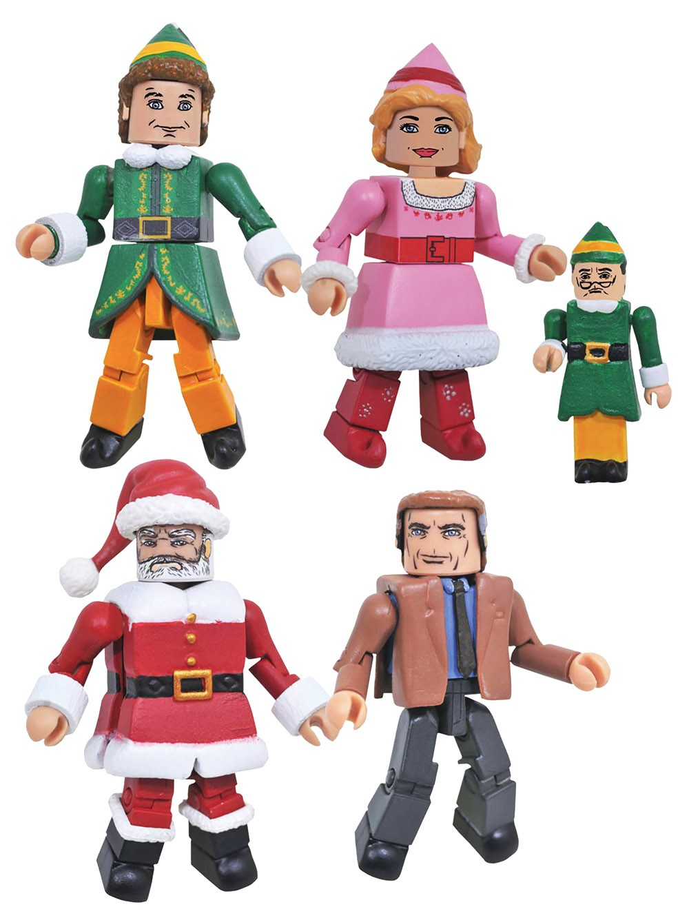 Elf Minimates Series 1 Box Set