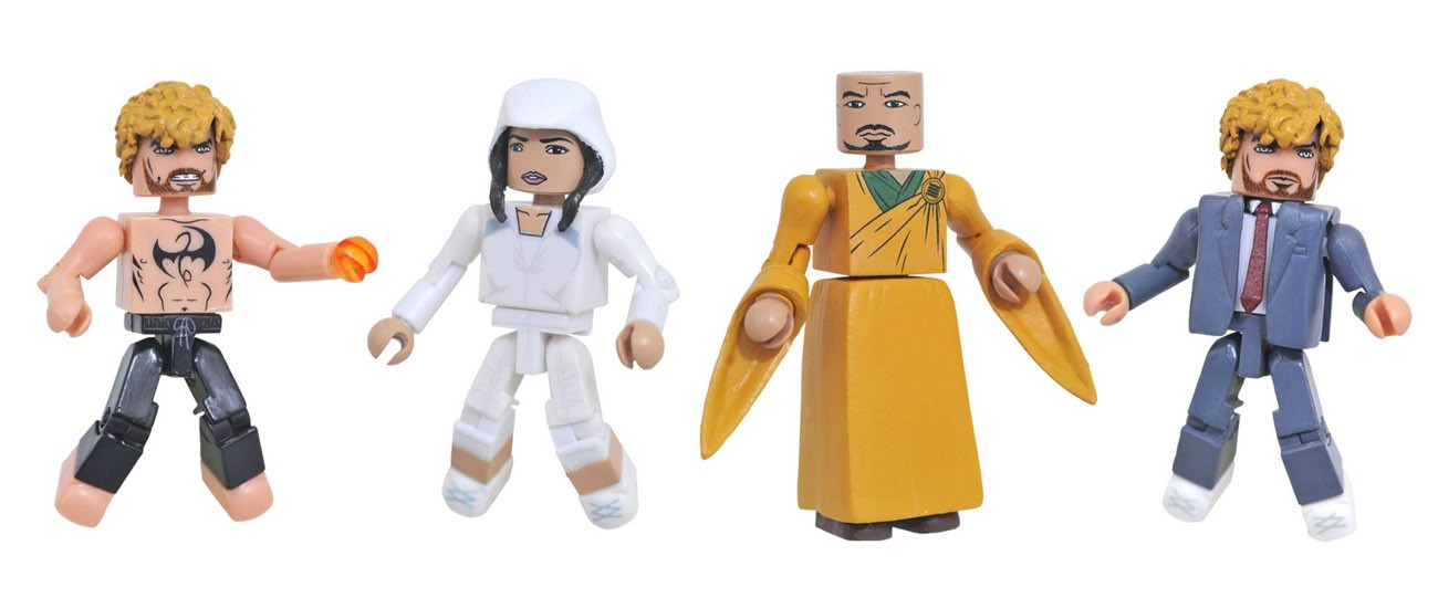 Iron Fist Netflix Minimates Series 1 Box Set