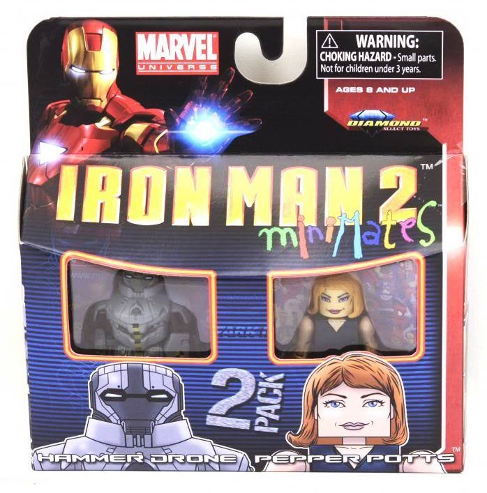 Pepper Potts & Hammer Drone Marvel Minimates Series 35