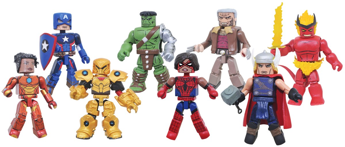 Marvel Minimates Series 74 Full Custom Case of 12