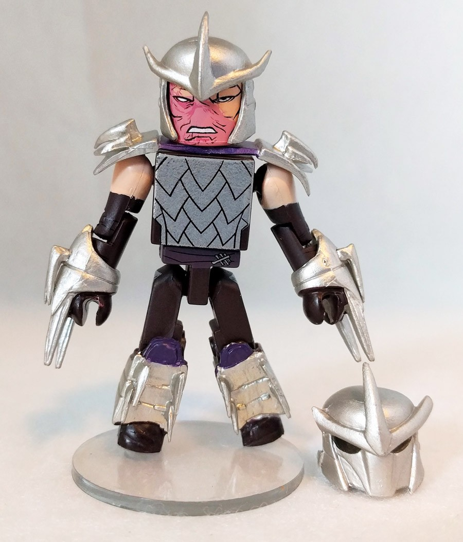 Battle Ready Shredder TMNT TRU Exclusive Minimate