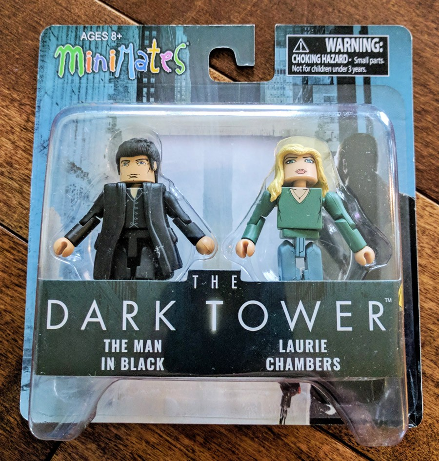 TRU Exclusive Laurie Chambers & The Man in Black Dark Tower Minimates