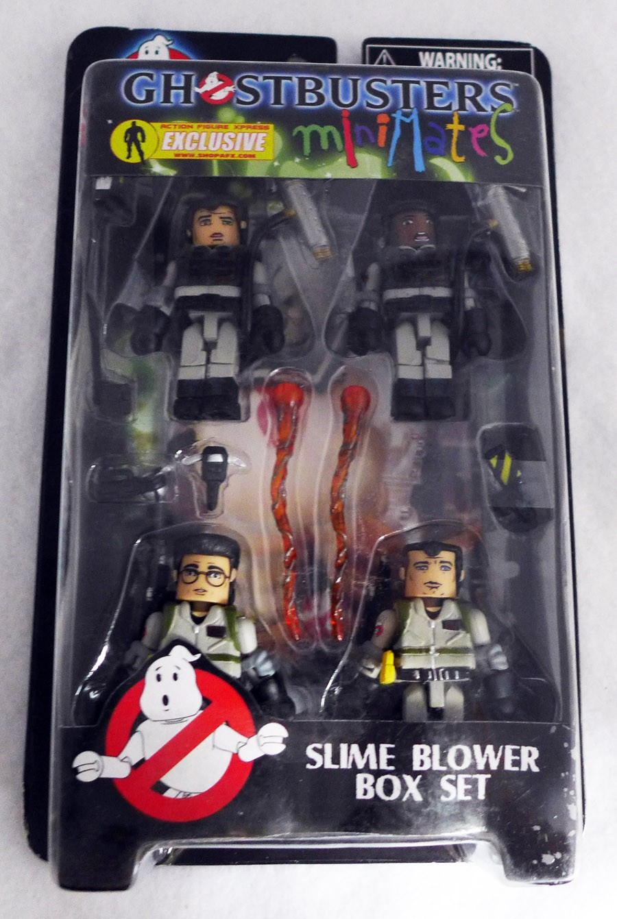 Ghostbusters Slime Blowers Minimates Box Set