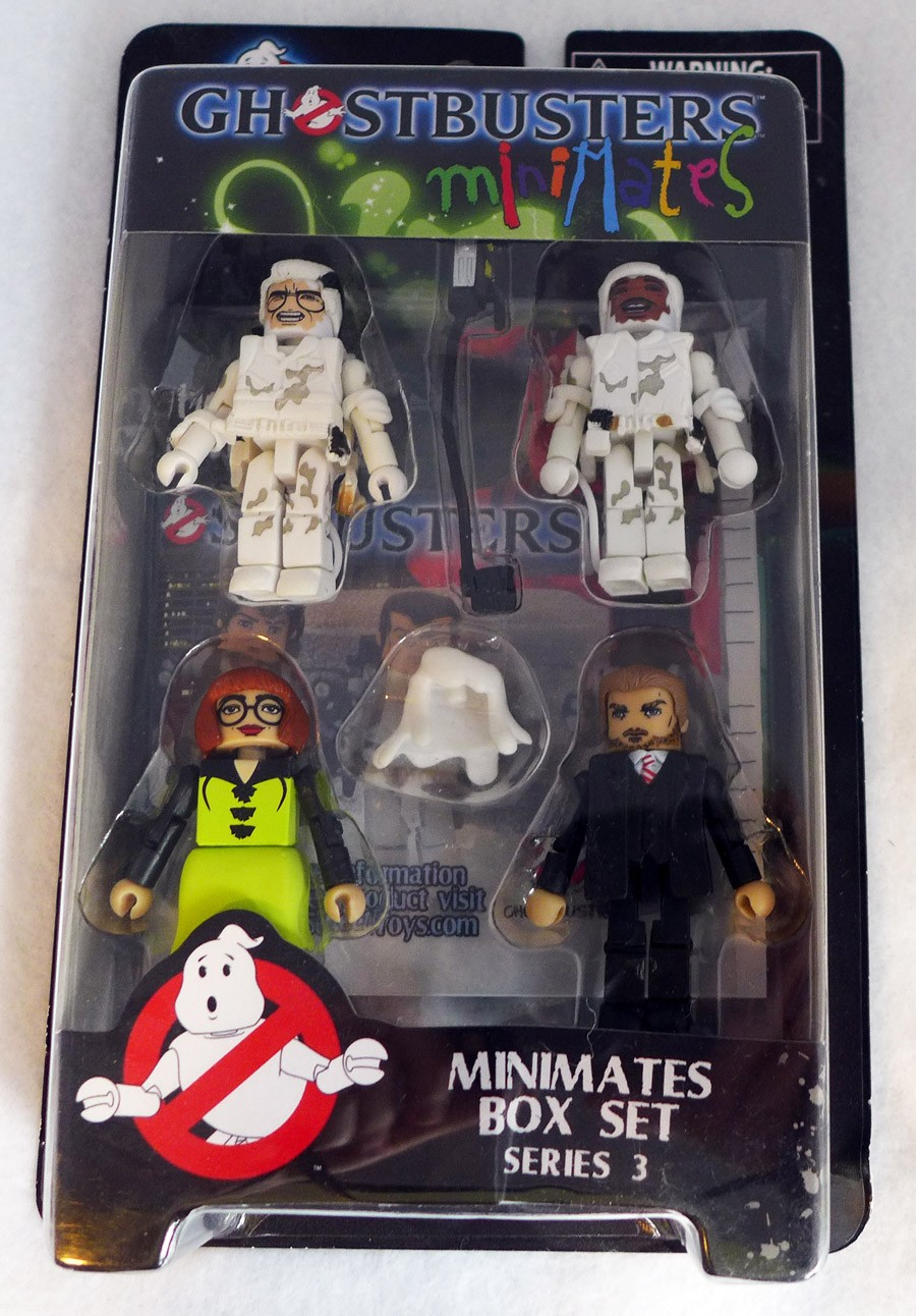 Ghostbusters Series 3 Minimates Box Set