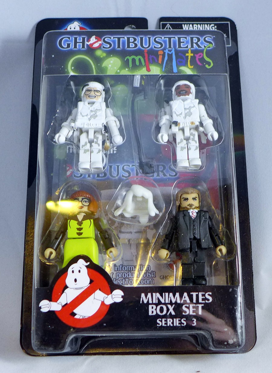 Ghostbusters Minimates Series 3 Box Set