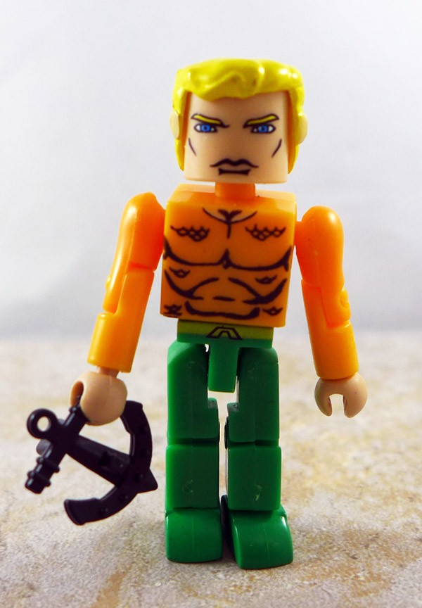 Aquaman with Custom Anchor Accessory