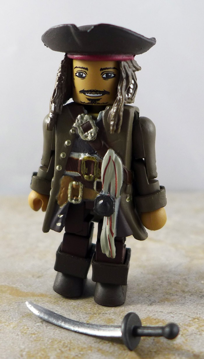 Jack Sparrow Loose Minimate (Pirates of the Caribbean Dead Men Tell No Tales Wave 1)