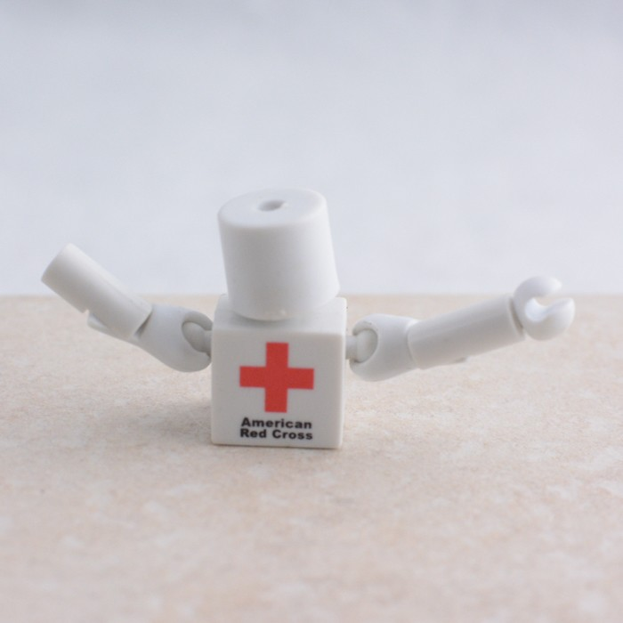 American Red Cross Torso with Head and Arms