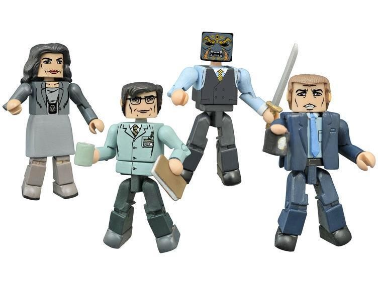 Gotham Minimates Series 1 Box Set