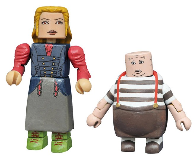 Alice & Tweedledee Alice Through the Looking Glass Minimates
