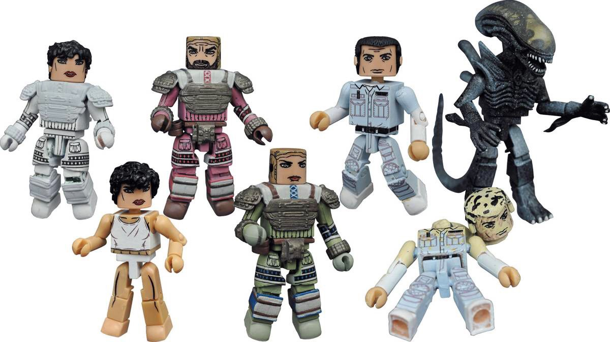 Aliens Minimates Series 3 Full Set of 8