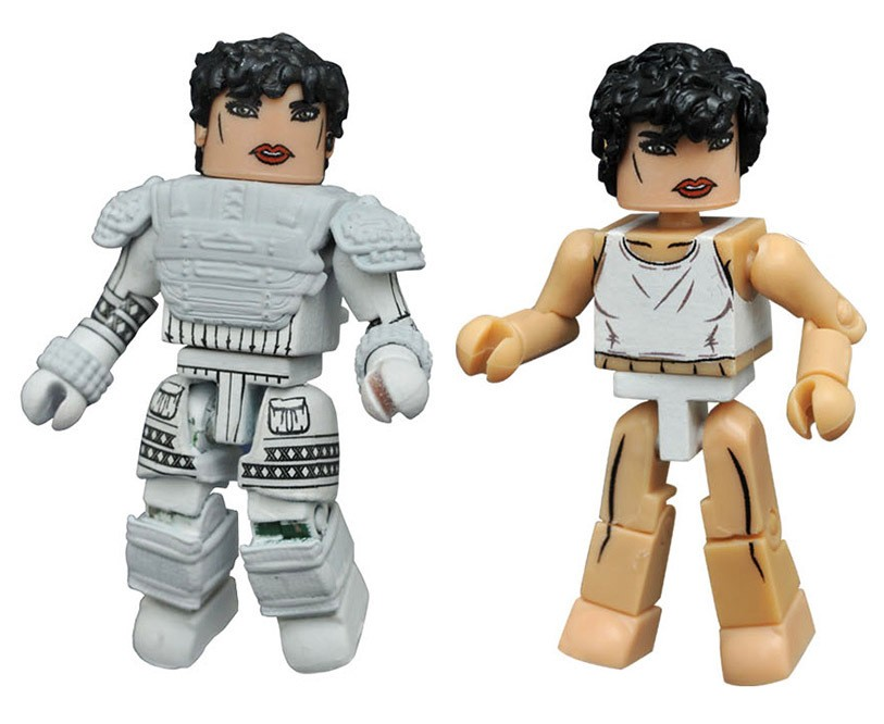Narcissus Ripley & Narcissus Space Suit Aliens Minimates