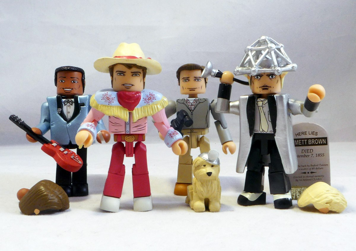 Back to the Future 1955 Hill Valley Minimates Box Set