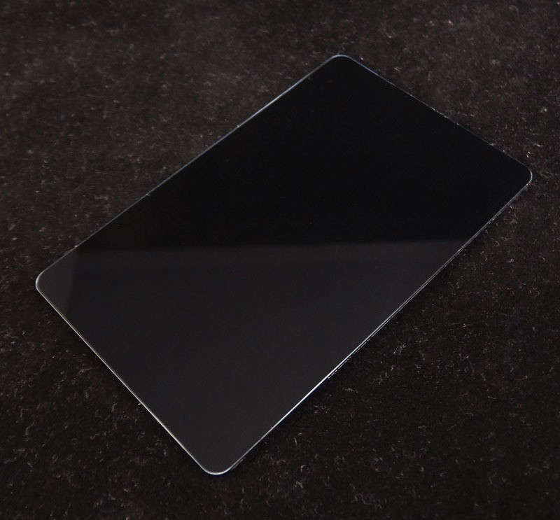 Black Colored Plastic Sheet for Customizing