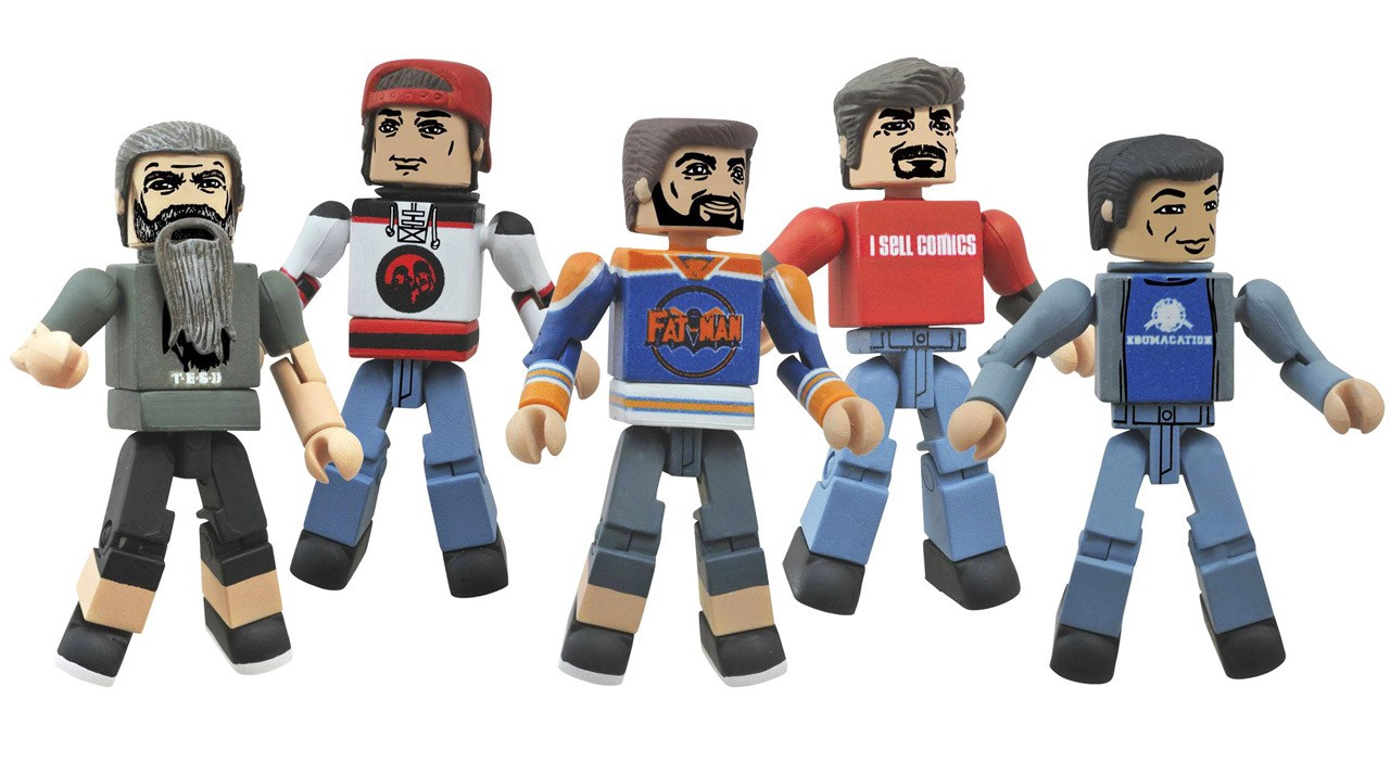 Comic Book Men Minimates 5-Pack Box Set