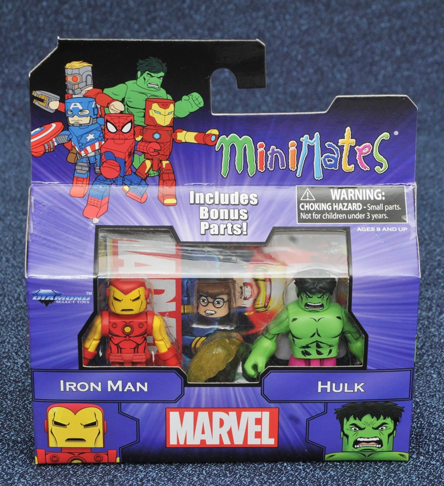 Iron Man & Hulk Marvel Minimates