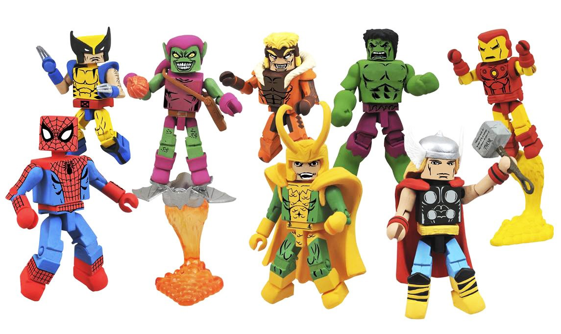 Marvel Minimates Greatest Hits Series 1 Full Set of 8