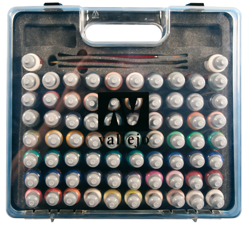 Vallejo Paint Ultimate Case of 72 Bottles