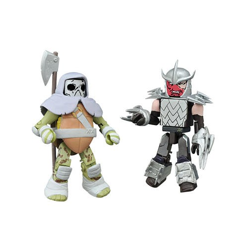 Vision Quest Donatello & Battle Ready Shredder TRU Minimates