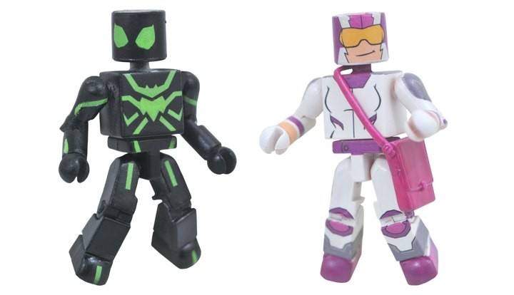 Stealth Suit Spider-Man & Screwball Walgreens Minimates