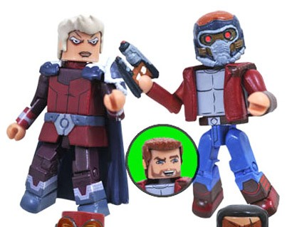The Collector & Star-Lord Walgreen's Exclusive Marvel Minimates