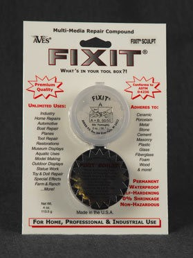 Fixit Sculpt 1/4 lb Canvas Color