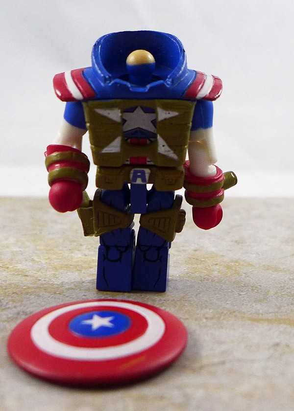 Fighting Chance Captain America Partial Loose Minimate (Wave 54)
