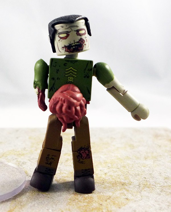 Military Zombie Partial Loose Minimate (Walking Dead TRU Wave 5)