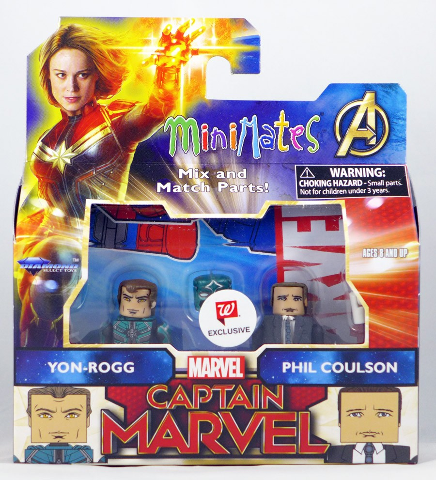 Yon-Rogg & Phil Coulson Walgreen's Exclusive Marvel Minimates