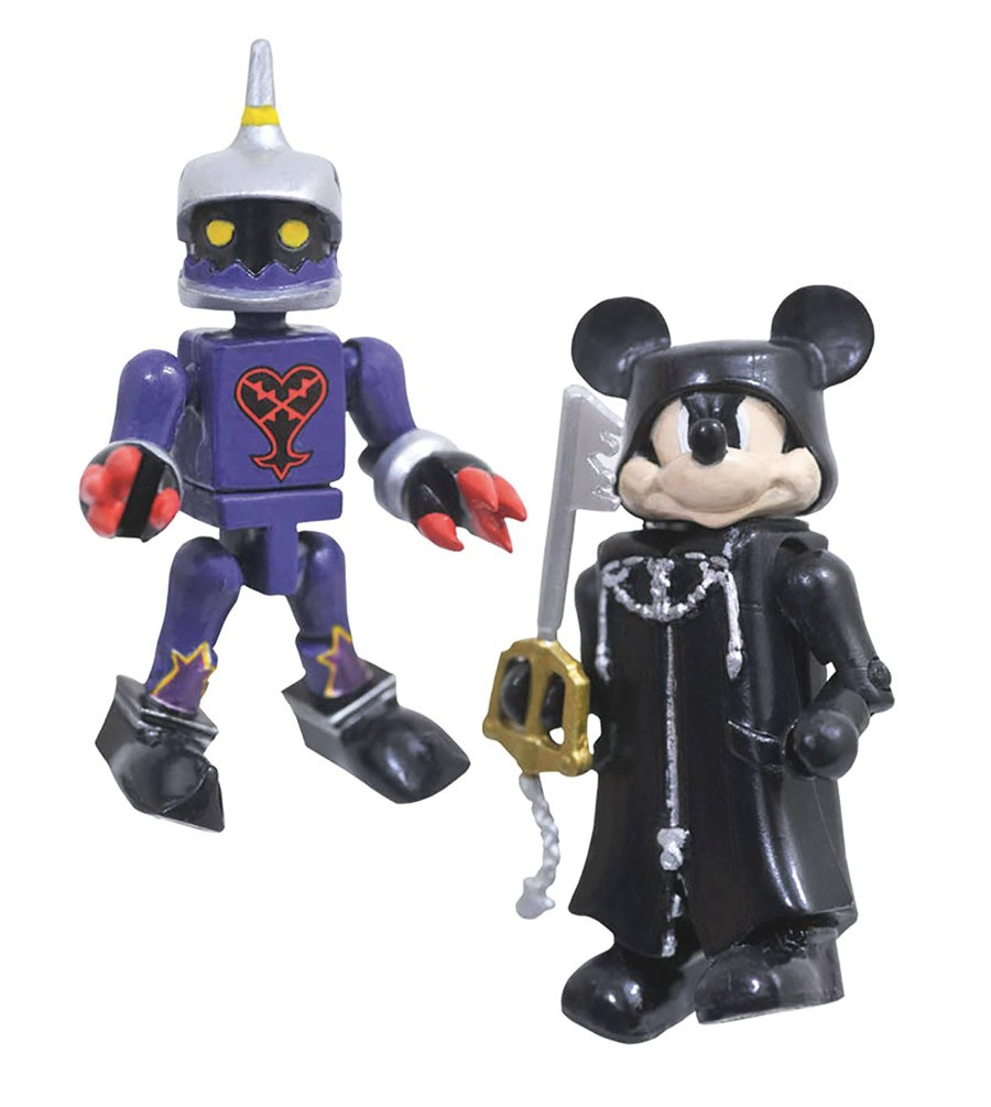 Organization 13 Mickey & Soldier Kingdom Hearts Minimates