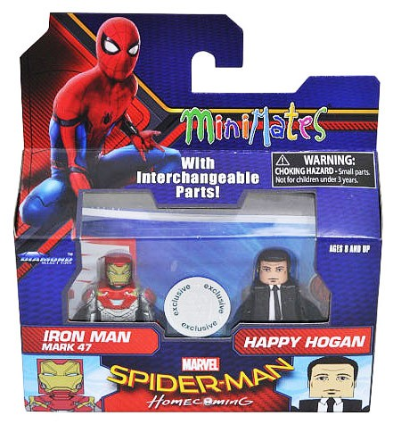 Iron Man Mark 47 & Happy Hogan TRU Minimates