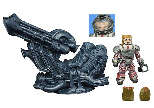 TRU Exclusive Space Jockey Deluxe Aliens Minimates Set - LOOSE ONLY