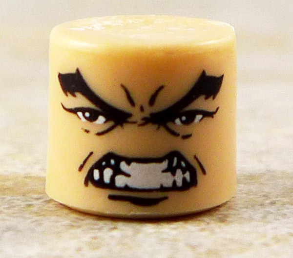 Male Rage Face Partial Loose Minimate
