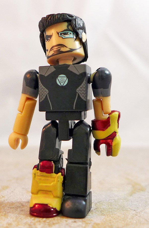 Tony Stark Partial Loose Minimate (Marvel TRU Iron Man 3 Two Packs)